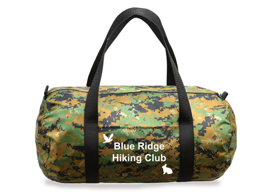 719Camo Duffle Bag