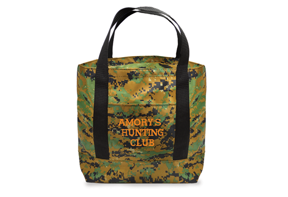 726Camo Medium Tote with Cuff