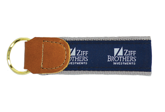 178M  Motif Ribbon Key Fob