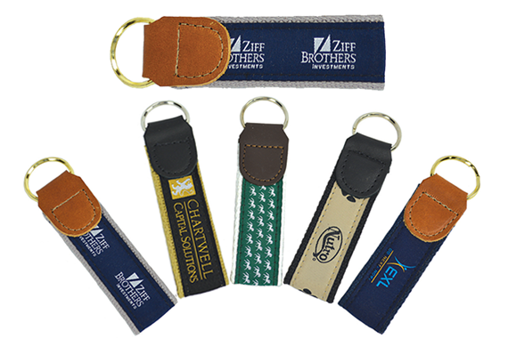 Motif Ribbon Key Fob